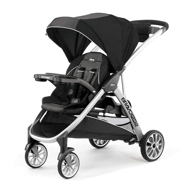 Chicco Bravo For2 Standing/ Sitting Double stroller