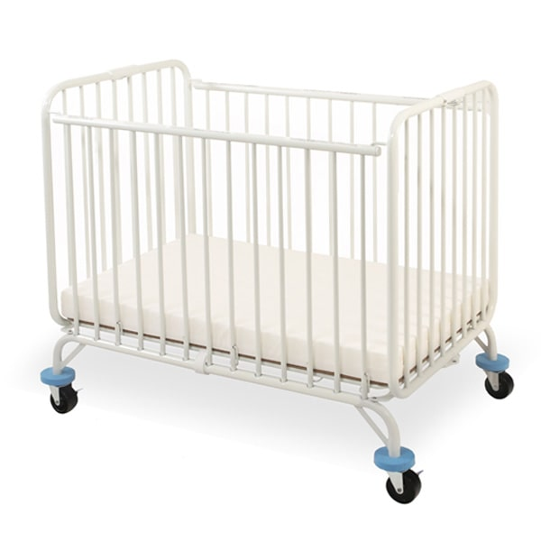 L.A. Baby Deluxe Holiday/ Mini Portable Folding metal Crib